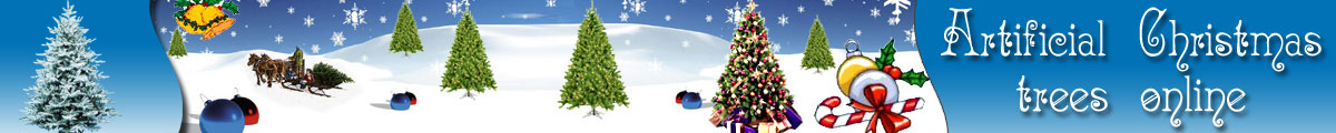 Artificial Christmas Trees Online Logo