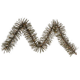 0.8' Vickerman B107711 Vienna Twig - Brown, Green