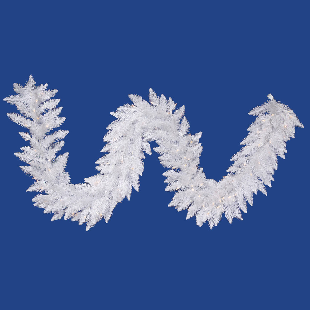 1.2' Vickerman A104214LED Sparkle White Spurce - Sparkle White