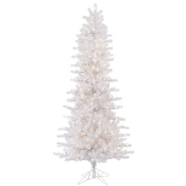 "Vickerman A135686LED 10' x 52"" Crystal White Slim 950WmWht"