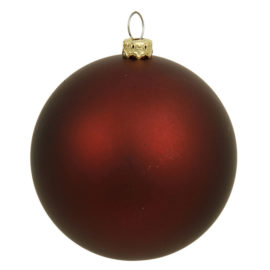 "Vickerman N592505MV 10"" Burgundy Matte Ball UV Shatterproof"